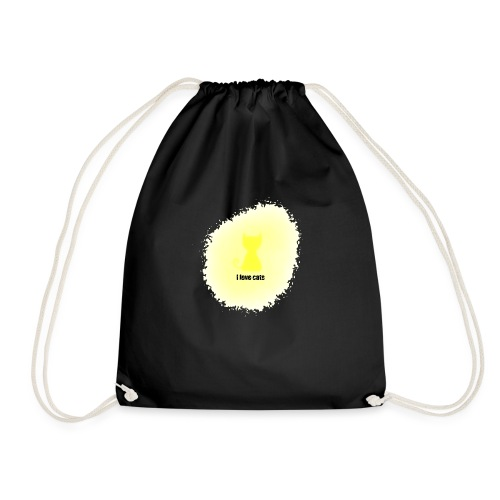Sand cat - Drawstring Bag