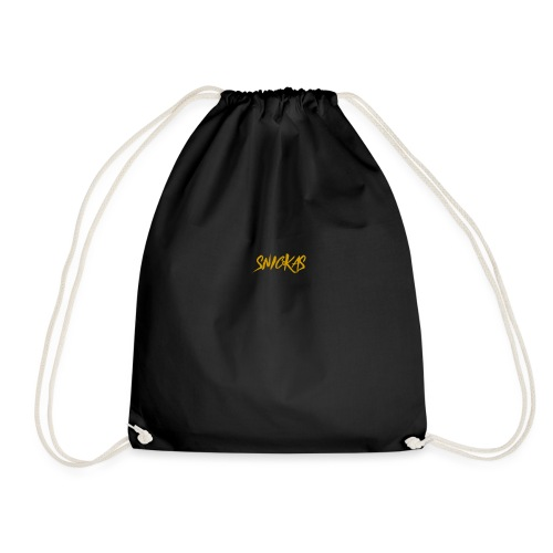 Gold Snickas Status Merch - Drawstring Bag