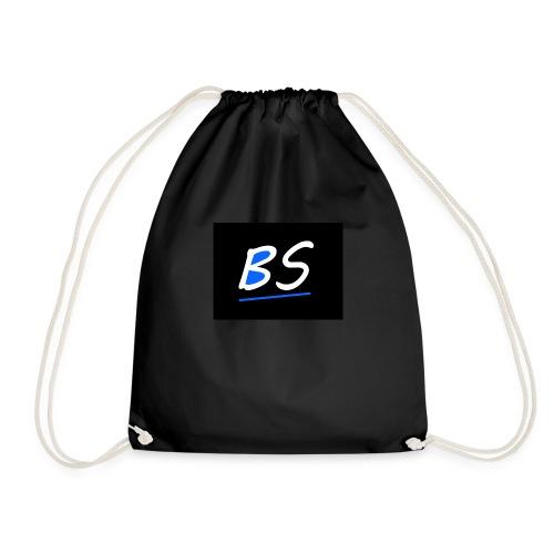 logo BSven op twitch en op youtube - Gymtas