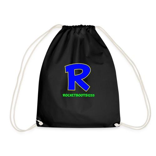 Unisex Adult Hoodie Black - Drawstring Bag