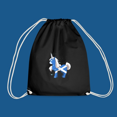 The Scotsman - Drawstring Bag