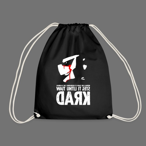 horrorcontest sixnineline - Drawstring Bag
