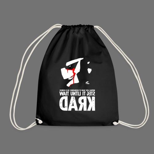 horrorcontest sixnineline - Drawstring Bag