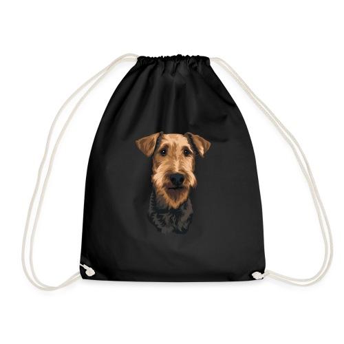 JUNO Airedale Terrier - Drawstring Bag