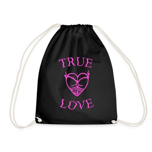 true love - Mochila saco