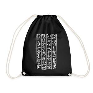 Hieroglyphen - Turnbeutel