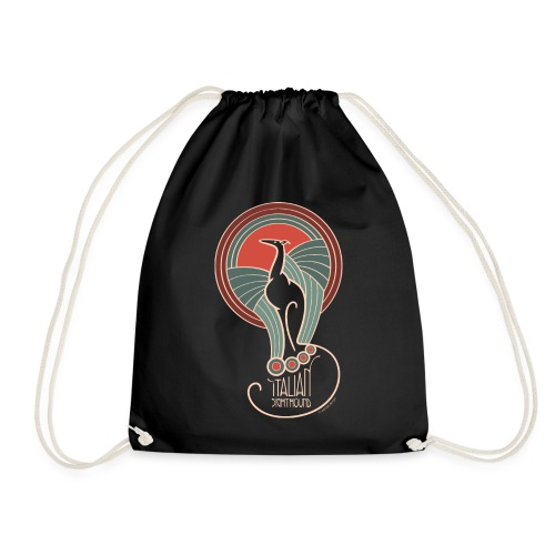 italian sighthound jugendstil 8 - Gymtas