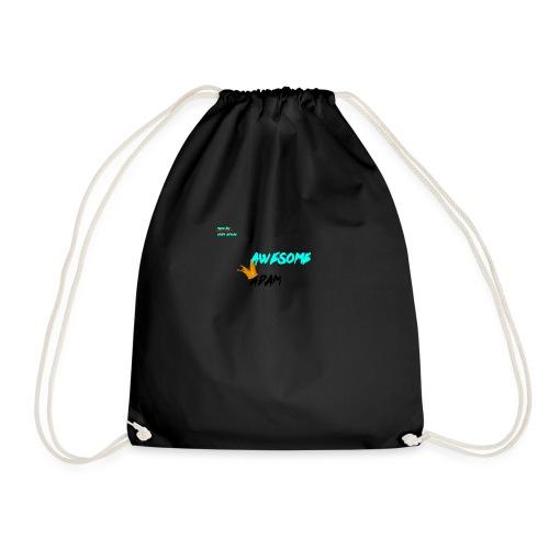 king awesome - Drawstring Bag