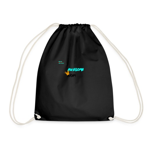 king awesome - Drawstring Bag