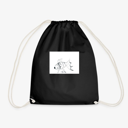 fish - Drawstring Bag