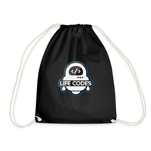 Life Codes Robot - Drawstring Bag