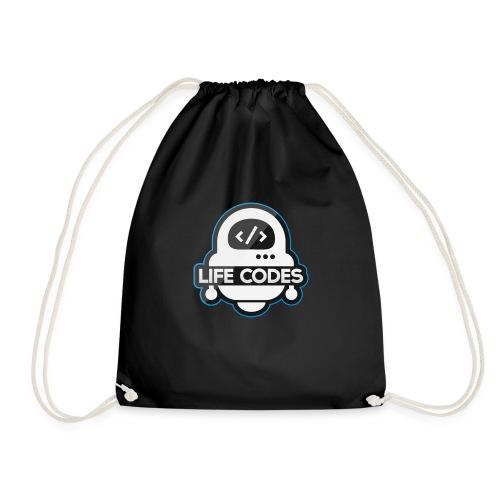 Life Codes Robot - Drawstring Bag