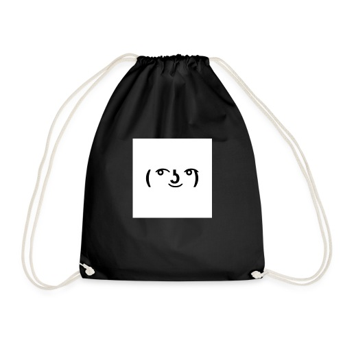 The Lenny face merch - Drawstring Bag