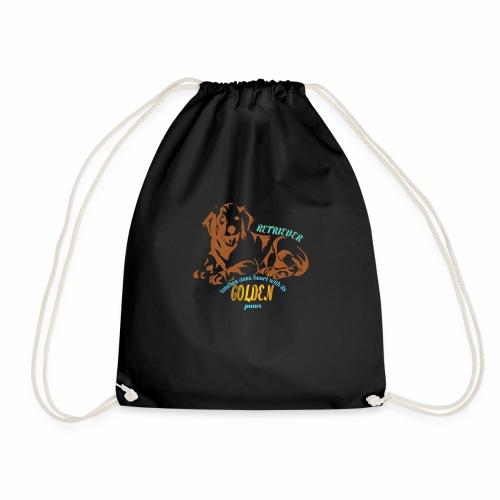 GOLDEN RETRIEVER - Drawstring Bag