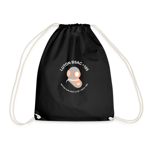 Luton BSAC Logo (White Text) - Drawstring Bag