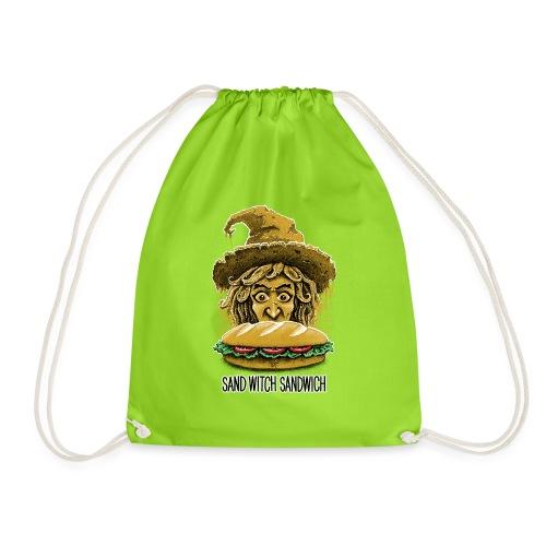 Sand Witch Sandwich V1 - Drawstring Bag