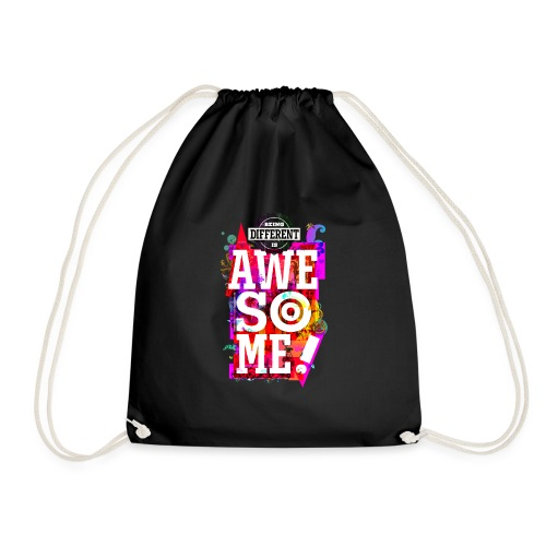 Different = Awesome - Drawstring Bag