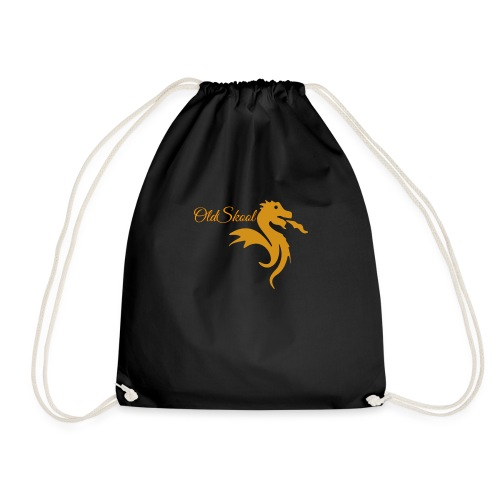 Even Bigger OldSkool Logo - Drawstring Bag