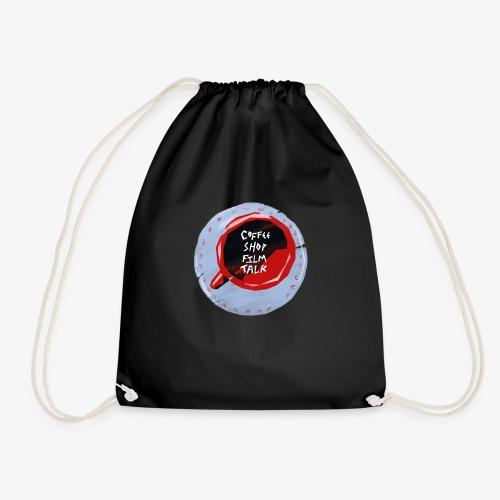 Coffee Shop Film Talk - Drawstring Bag