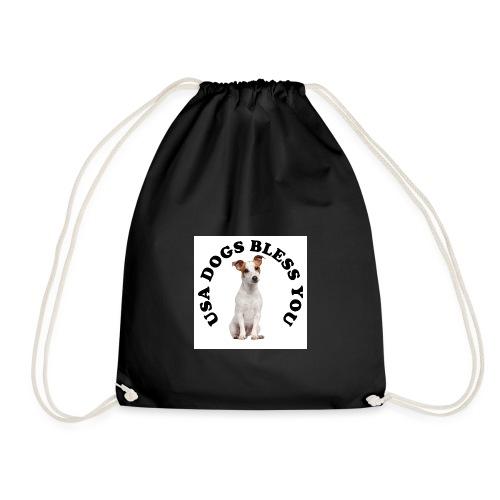 usadogsLOGO2 - Drawstring Bag