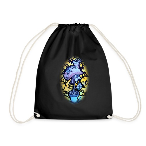 Roots N Spurs Blur - Drawstring Bag