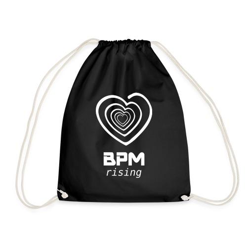 Heart BPM Rising - Drawstring Bag