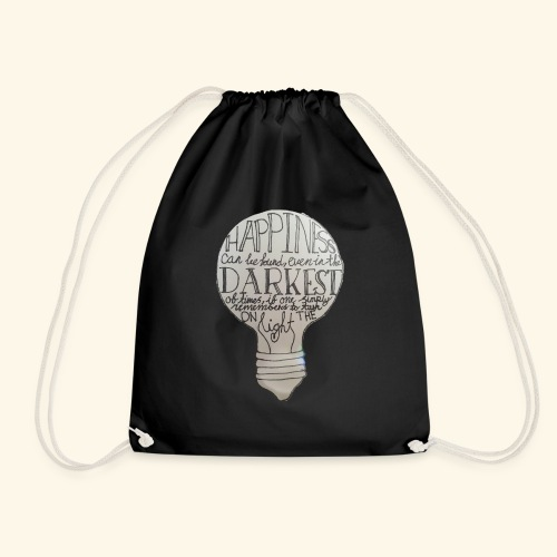 HappinessIsEverywhere - Drawstring Bag