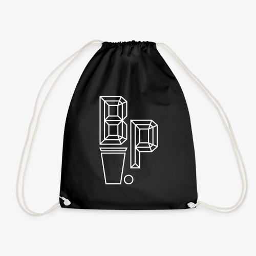 Beer Pong Logo III - Turnbeutel