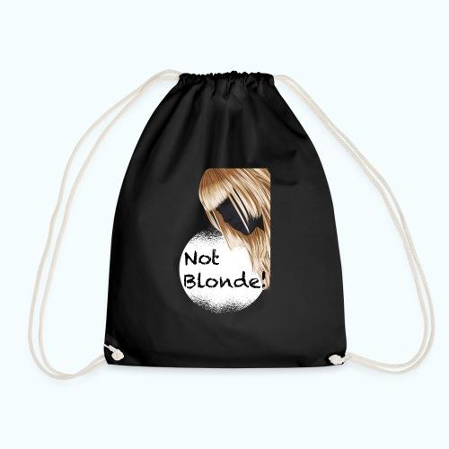 I'm not blond - Drawstring Bag