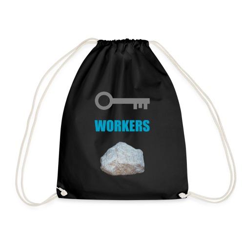 Key Workers Rock - Drawstring Bag