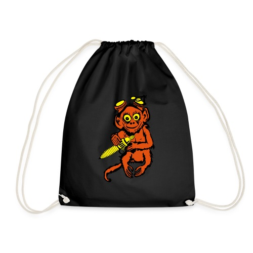 Steampunk Monkey - Drawstring Bag
