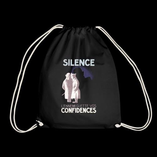 SiLENCE.. on vous écoute! (Style 1) - Sac de sport léger