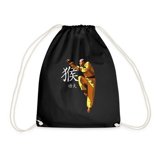 Monkey Style Kung Fu - Drawstring Bag