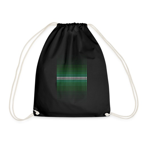 Sequential Dots Green - Sac de sport léger
