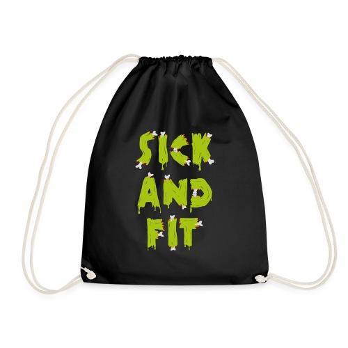 Sick and fit - original - Drawstring Bag