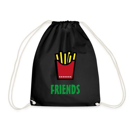 Best Friends Burger & Fries Fritten Pommes Frittes - Turnbeutel
