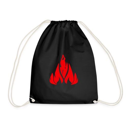 fire - Drawstring Bag