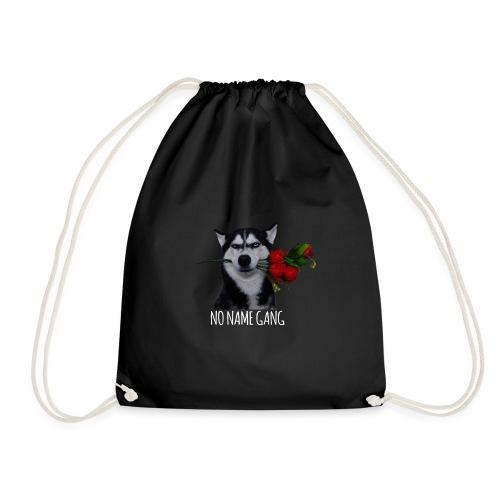 NO NAME GANG - white design - Drawstring Bag
