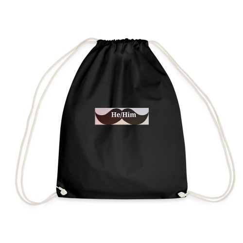 FTM/NB pronoun tee/accessories - Drawstring Bag