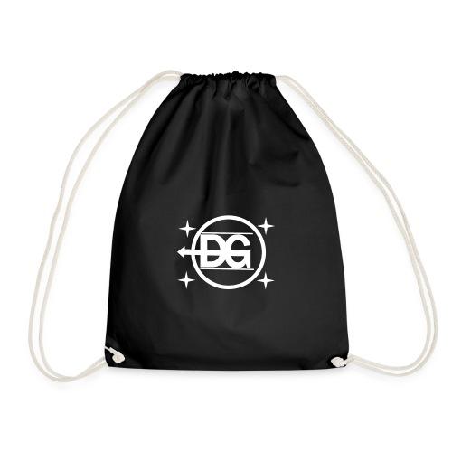 DG logo weiß - Turnbeutel