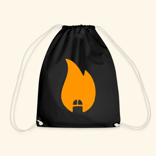 dicksonfire.png - Drawstring Bag
