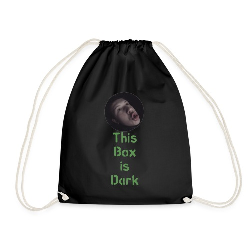 'This Box is Dark' - Drawstring Bag