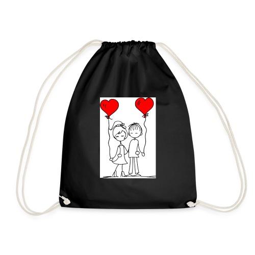 You and me - Drawstring Bag