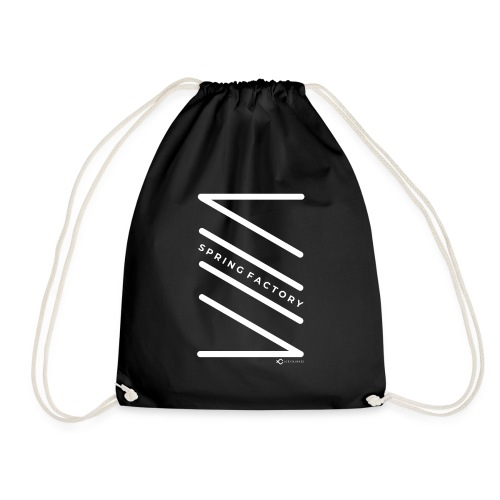 SPRING FACTORY WHITE - Drawstring Bag