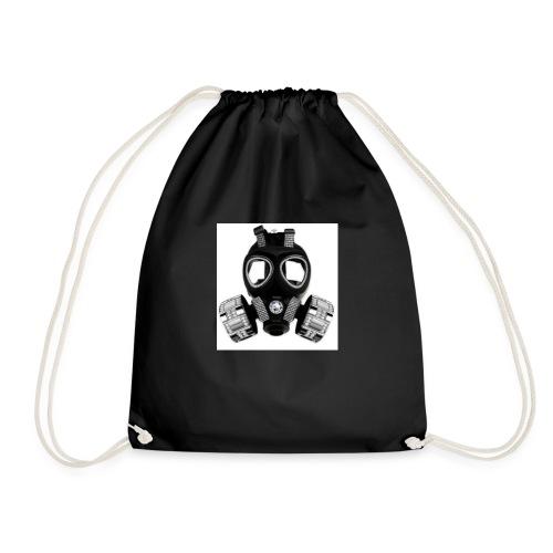 T-shirt modéle masque à gaz - Sac de sport léger