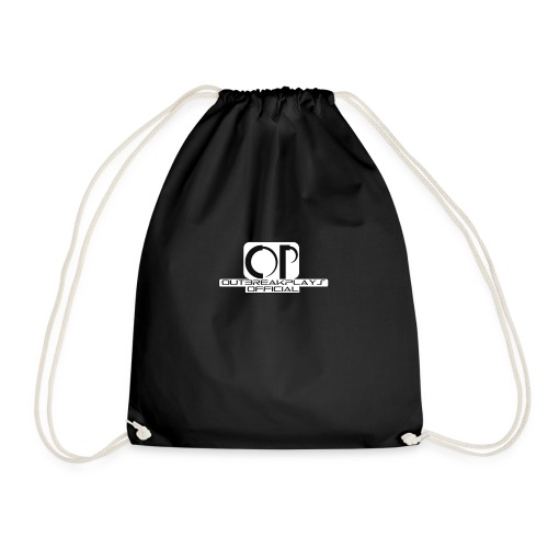 outbreakplays official OP logo - Drawstring Bag