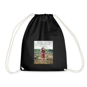 Free-Spirited - Drawstring Bag