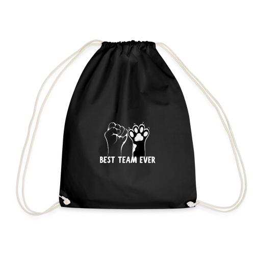 The Best Team Ever My And My Cat- Recxoo.com - Sportstaske
