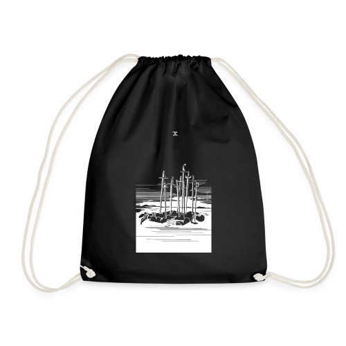 Revenge Capitalism (on black) - Drawstring Bag