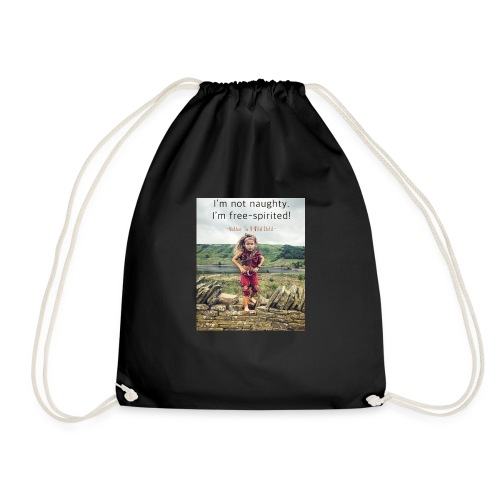 Free-Spirited - Drawstring Bag